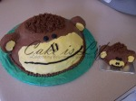 Monkey Cakes for Nephew's Birthday