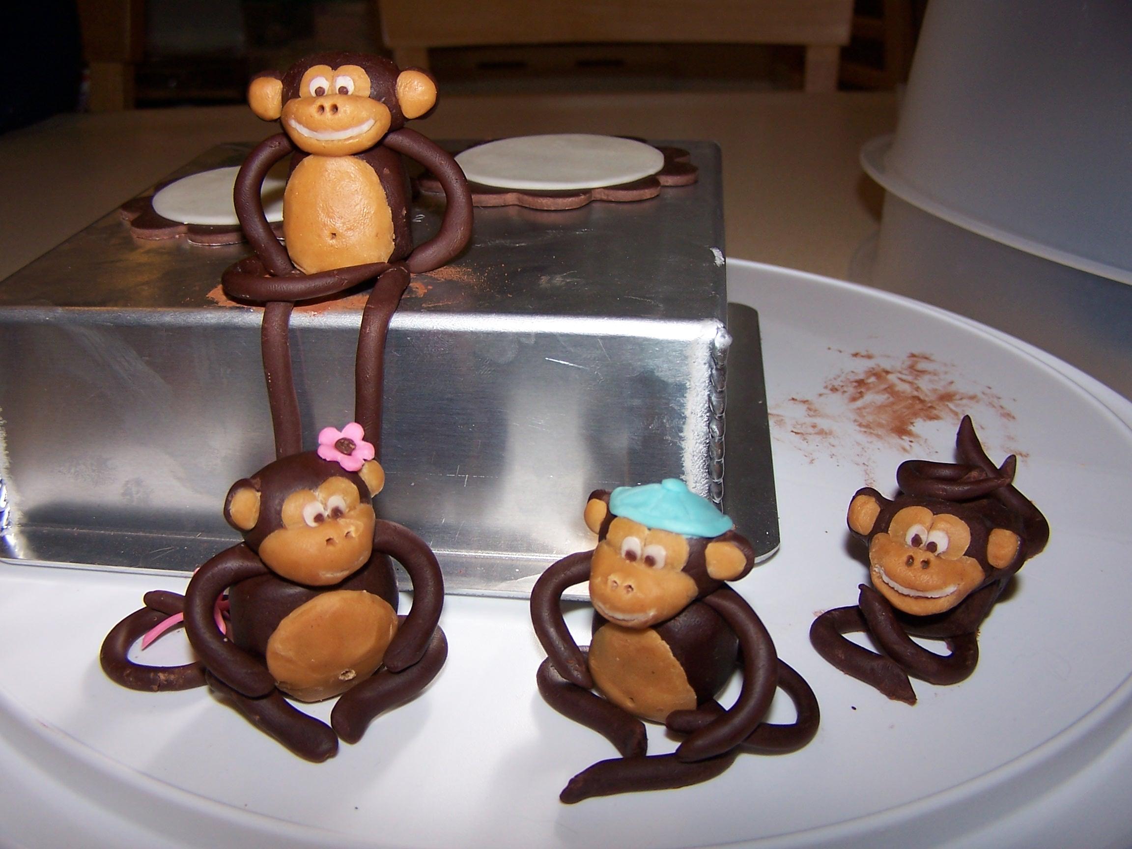 Modeling Chocolate Monkeys | Cake Is Life