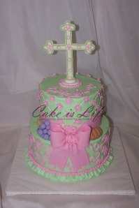 Jeannine's First Communion Cake