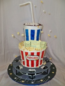 Movie-Themed Cake