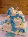 Gift Box Wedding Cake