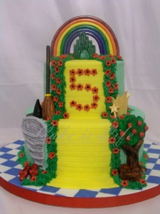 Wizard of Oz Cake v.2