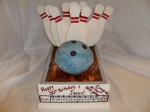 Bowling Birthday Cake