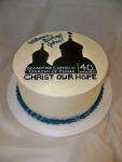 Welcome Cake for a Bishop