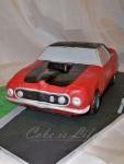3-D Mustang Birthday Cake Cake