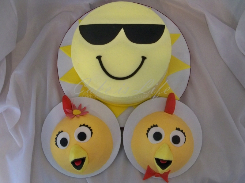 Sunny Chica Birthday Cake Cake Is Life