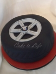 Mustang Tire Groom's Cake