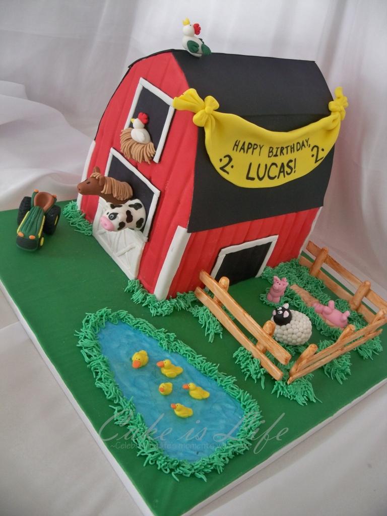 Prime Barn Birthday Cake Cake Is Life Personalised Birthday Cards Veneteletsinfo