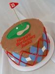 Golf Tee Birthday Cake