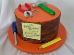 Tools Birthday Cake