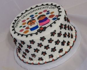 Grandparent's Day Cake