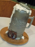 Beer Stein Groom's Cake