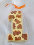 Giraffe Birthday Cookies