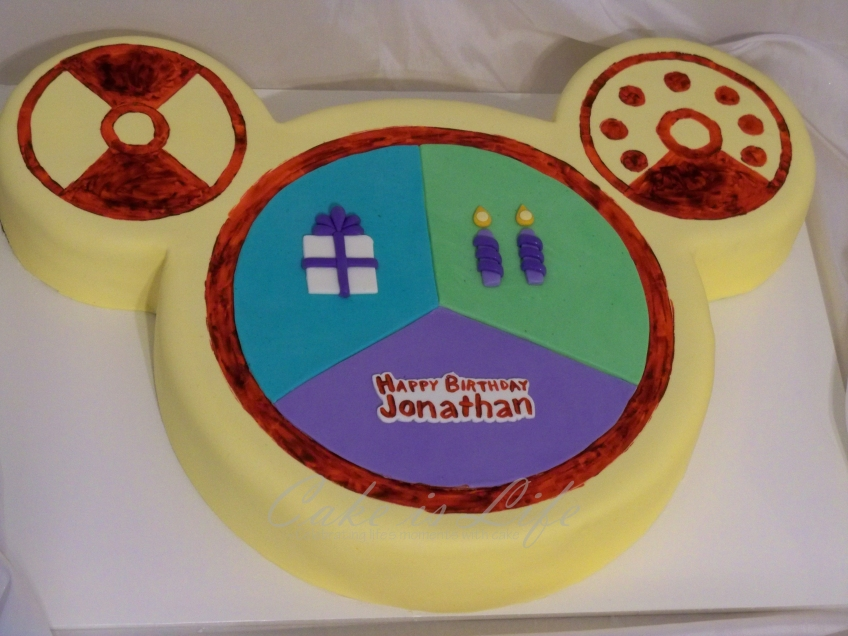 Strange Mickey Mouse Clubhouse Birthday Cake Cake Is Life Personalised Birthday Cards Paralily Jamesorg