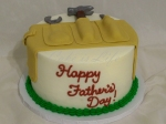 Tool Belt Father's Day Cake