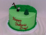 Yard Work Father's Day Cake