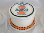 Illini Birthday Cake