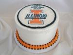 Illini Birthday Cake