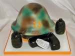 Army Helmet Birthday Cake