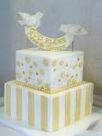 Dove Baptism Cake
