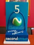 Corporate Anniversary Cake