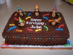 Party Monkeys Birthday Cake