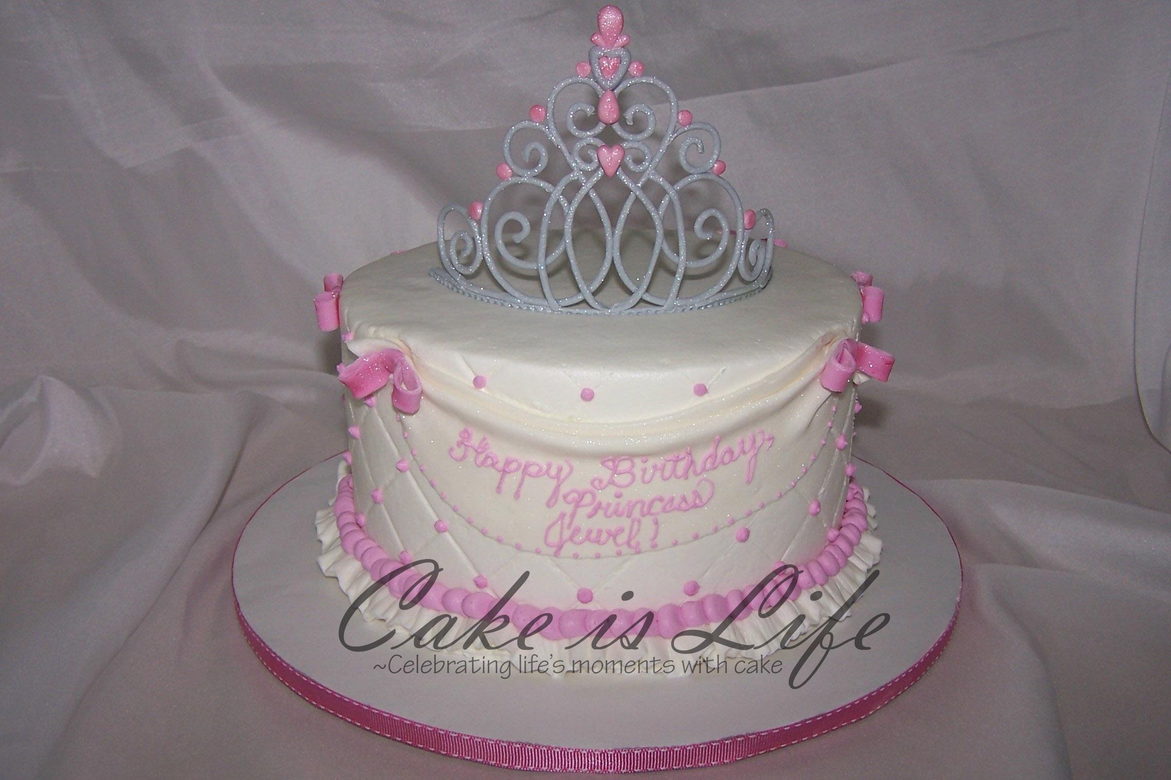 Princess Birthday Cake Cake Is Life