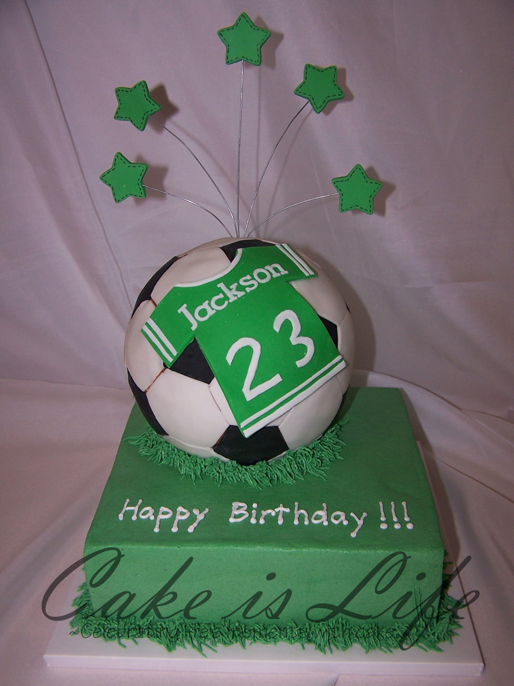 Soccer Ball Birthday Cake Cake Is Life