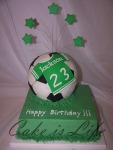 Soccer Ball Birthday Cake