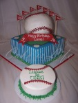 Baseball 1st Birthday Cake