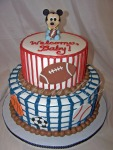 Mickey Baby Shower Cake