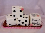 Bunco Night Cake