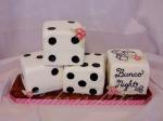 Bunco Night Cake