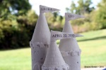 Castle Wedding Cake Close-up