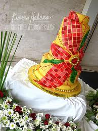 Poinsettia Cake by Kusina Habana