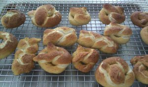 Soft Pretzels ~ Heaven on a Rack!