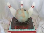 Bowling Groom's Cake