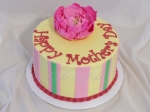 Peony Mother's Day Cake